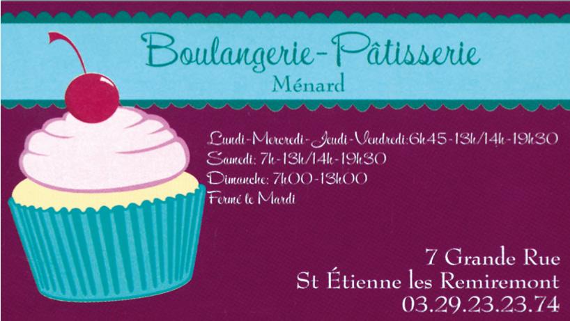 Boulangerie Menard
