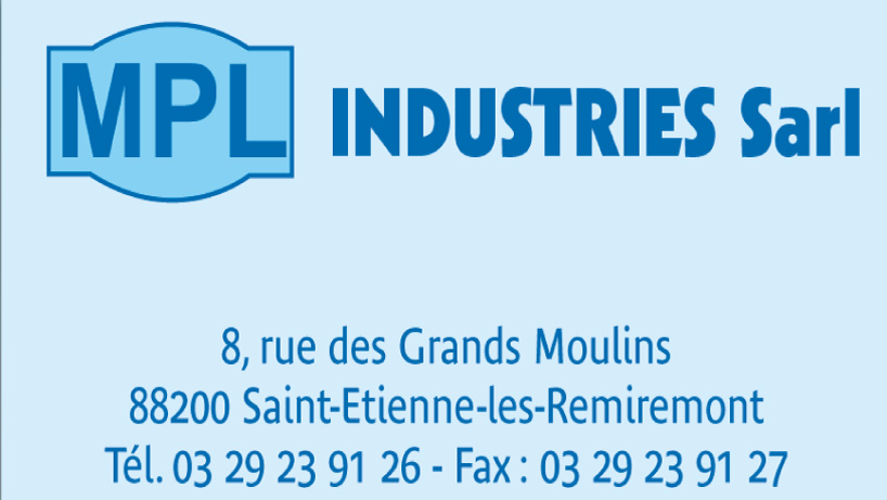 Logo mpl industries sarl