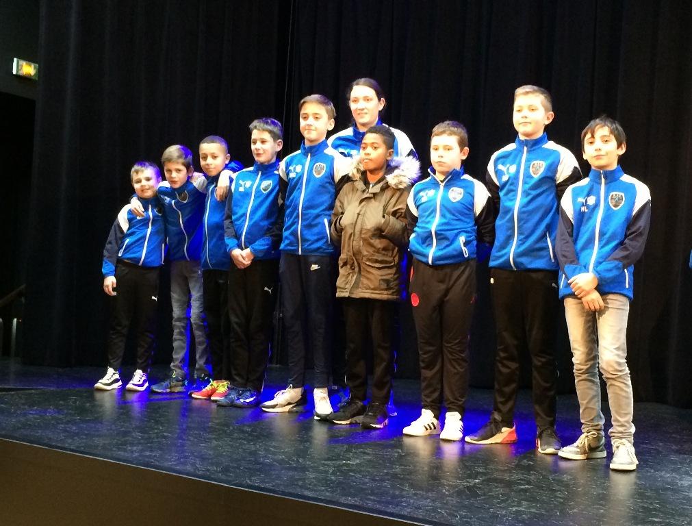 Remise des récompenses aux sportifs méritants de St Etienne