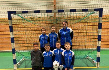 U11-1 Vainqueurs Ste Marguerite Futsal 05-01-20