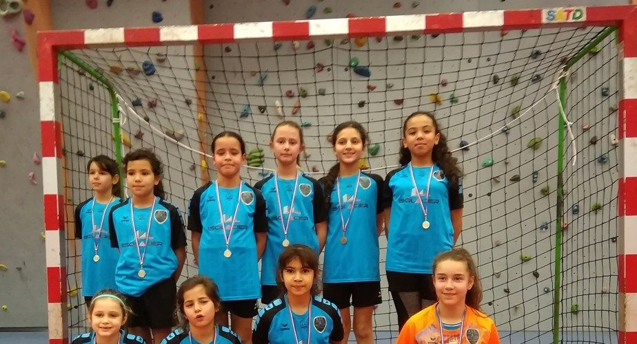 U11F Finale Futsal à St Michel 5 janvier 2020