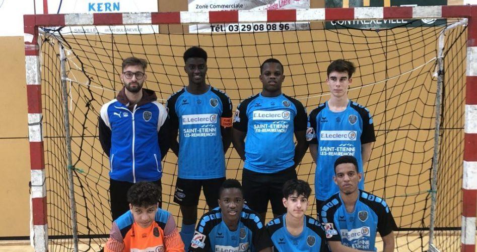 Les U18 finalistes de la coupe