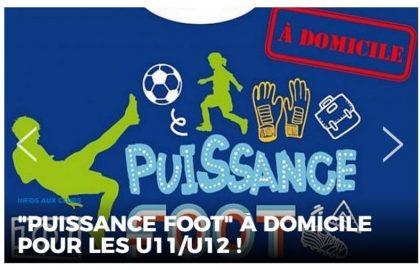 Puissance Foot pour les U11/U12