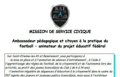 Mission de service civique